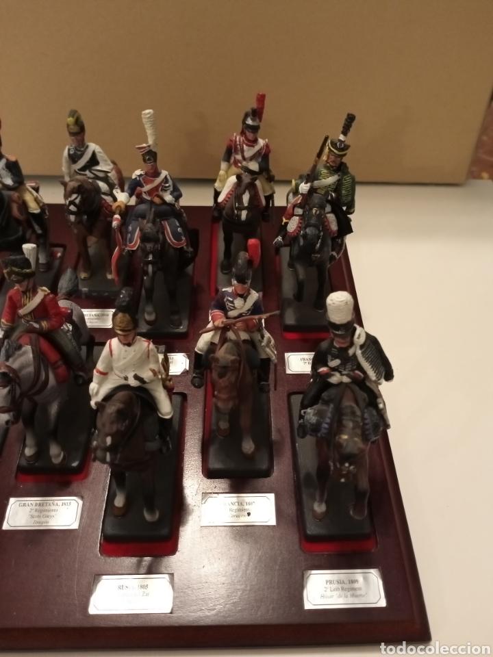 Juguetes Antiguos: Colección Soldados a Caballo de plomo. - Foto 5 - 218330050