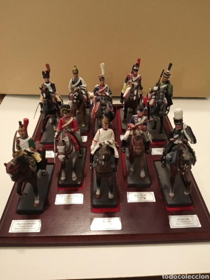 Juguetes Antiguos: Colección Soldados a Caballo de plomo. - Foto 2 - 218330050