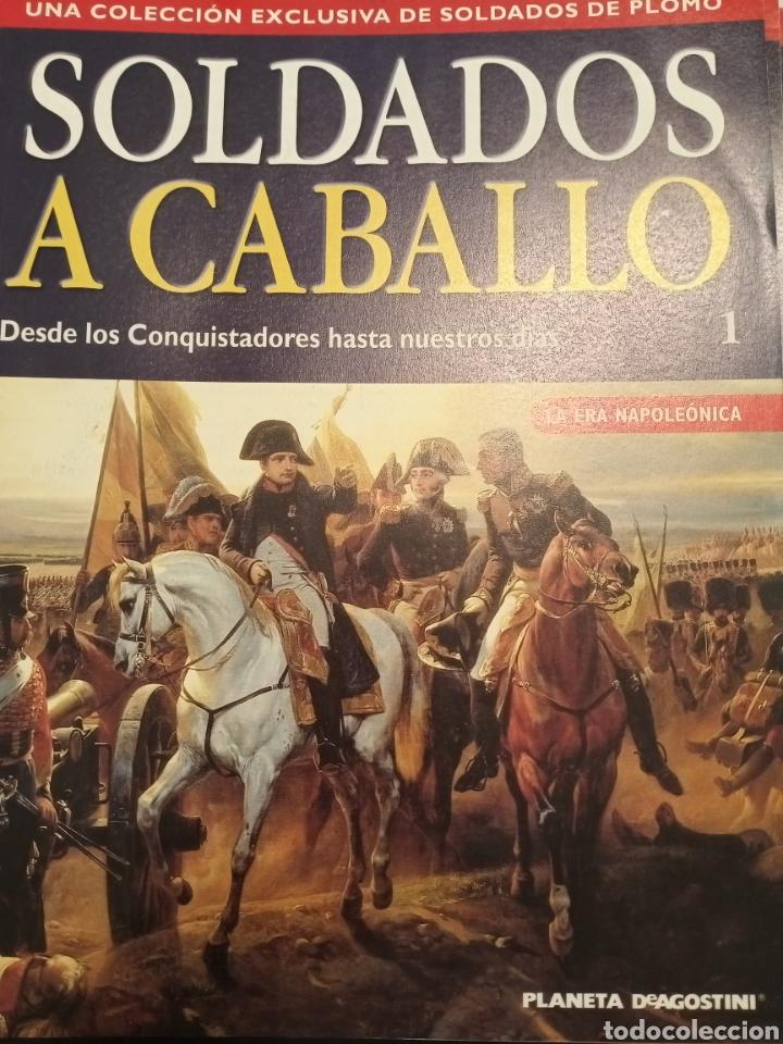 Juguetes Antiguos: Colección Soldados a Caballo de plomo. - Foto 6 - 218330050