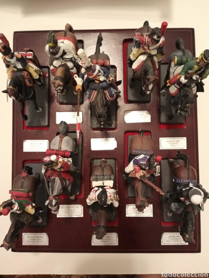 Juguetes Antiguos: Colección Soldados a Caballo de plomo. - Foto 3 - 218330050