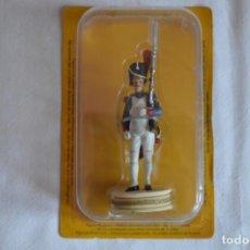 Juguetes Antiguos: FIGURA DE PLOMO. GRANADERO DE LA GUARDIA IMPERIAL. ROMANJUGUETESYMAS.. Lote 218619201