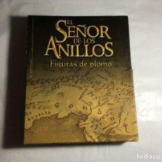 Juguetes Antiguos: CAJA 39 FASCICULOS EL SEÑOR DE LOS ANILLOS SOLDADOS DE PLOMO. Lote 220421266