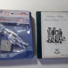Juguetes Antiguos: ANTIGUO SOLDADO DE PLOMO RAMON LABAYEN REF. 35C GRANADERO DE INFANTERIA DE LINEA 1811 EN CAJA. Lote 221647452