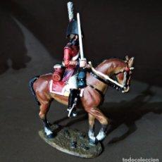 Juguetes Antiguos: FIGURA DE PLOMO OFFICER BRITISH 5TH DRAGON GUARDS 1812. Lote 221713508