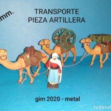 Juguetes Antiguos: SOLDADOS METAL. Lote 221933880