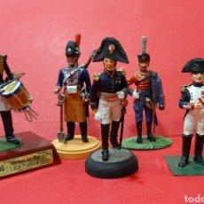 Juguetes Antiguos: SOLDADITOS DE PLOMO (6) TAMBOR DE MARINOS 1808 FRANCIA. SAPADOR 1800 GRAL DE BRIGADA.... Lote 223365578