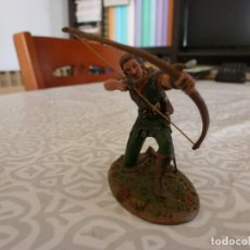 Juguetes Antiguos: ROBIN HOOD (ERROL FLYNN)-ESCALA 1/30-(60MM)-CONTE COLLECTIBLES-ROBIN DE LOS BOSQUES. Lote 223777236