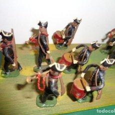 Jeux Anciens: 60 SOLDADITOS DE PLOMO ANTIGUOS 4.50 M CMS. Lote 224911547