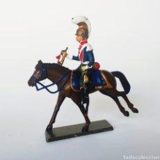 Juguetes Antiguos: SOLDADO DE PLOMO -54MM CABALLERIA NAPOLEONICA - STARLUX - 54 MM - TOY SOLDIER. Lote 225485785