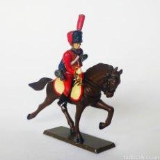 Juguetes Antiguos: SOLDADO DE PLOMO -54MM CABALLERIA NAPOLEONICA - STARLUX - 54 MM - TOY SOLDIER. Lote 225491487