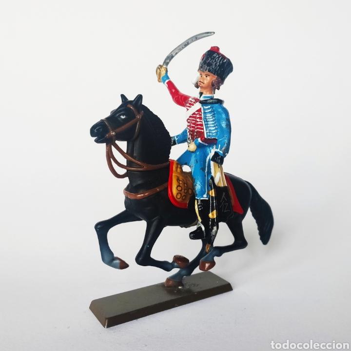 Juguetes Antiguos: SOLDADO DE PLOMO -54MM CABALLERIA NAPOLEONICA - STARLUX - 54 MM - TOY SOLDIER - Foto 2 - 225491895