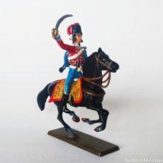 Juguetes Antiguos: SOLDADO DE PLOMO -54MM CABALLERIA NAPOLEONICA - STARLUX - 54 MM - TOY SOLDIER. Lote 225491895