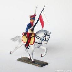 Juguetes Antiguos: SOLDADO DE PLOMO -54MM CABALLERIA NAPOLEONICA - STARLUX - 54 MM - TOY SOLDIER. Lote 225492175