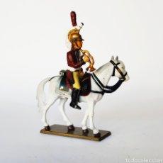 Juguetes Antiguos: SOLDADO DE PLOMO -54MM CABALLERIA NAPOLEONICA - STARLUX - 54 MM - TOY SOLDIER. Lote 225495650