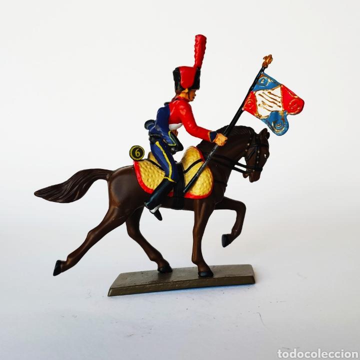 Juguetes Antiguos: SOLDADO DE PLOMO -54MM CABALLERIA NAPOLEONICA - STARLUX - 54 MM - TOY SOLDIER - Foto 2 - 225496068