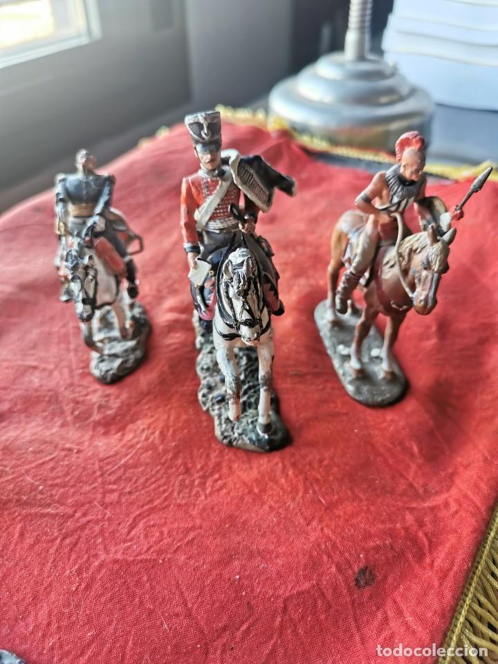 Juguetes Antiguos: Lote soldados de plomo.Ediciones del Prado. - Foto 2 - 229160675