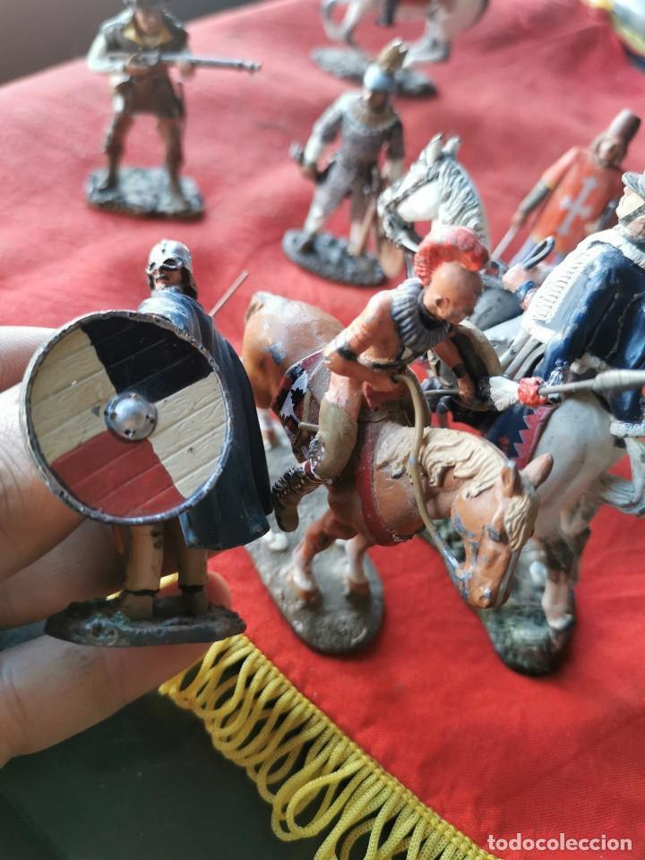 Juguetes Antiguos: Lote soldados de plomo.Ediciones del Prado. - Foto 4 - 229160675
