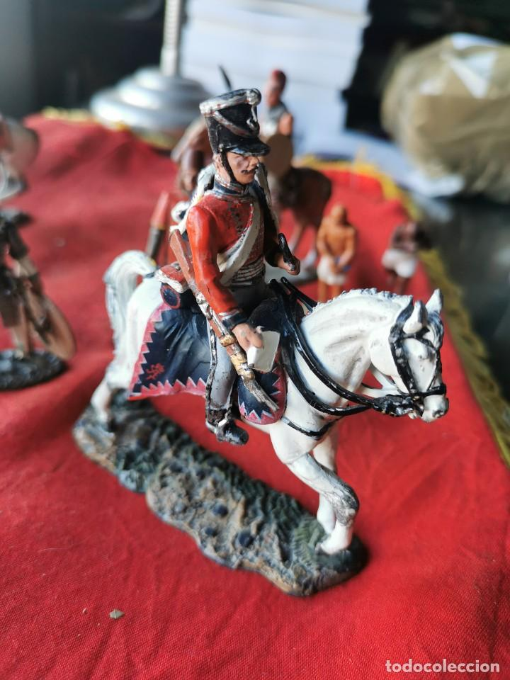 Juguetes Antiguos: Lote soldados de plomo.Ediciones del Prado. - Foto 7 - 229160675
