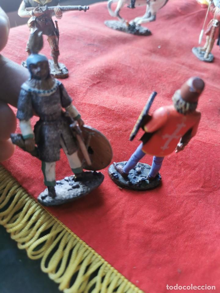 Juguetes Antiguos: Lote soldados de plomo.Ediciones del Prado. - Foto 8 - 229160675