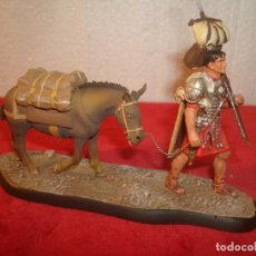 Juguetes Antiguos: SOLDADO DE PLOMO CENTURION CON CABALLO 11,5 X 6. Lote 236984650