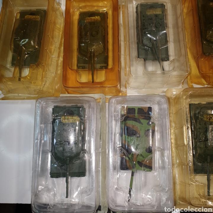 Juguetes Antiguos: Lote De 19 tanques De Plomo y Resina, Procedentes De Vendedor Ambulante, envases abiertos. Pvc 10€. - Foto 2 - 240345815