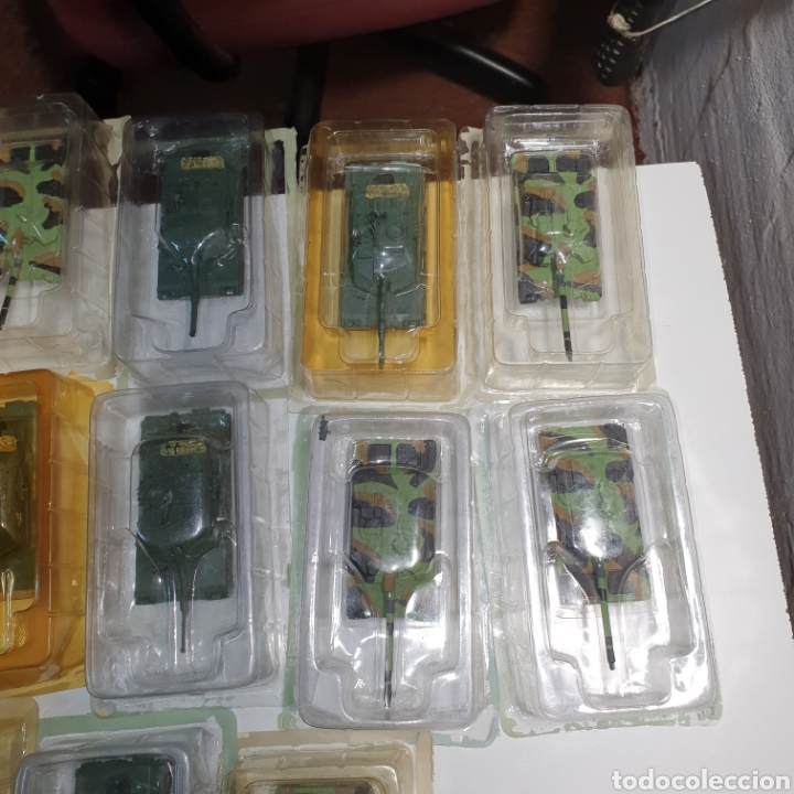 Juguetes Antiguos: Lote De 19 tanques De Plomo y Resina, Procedentes De Vendedor Ambulante, envases abiertos. Pvc 10€. - Foto 4 - 240345815