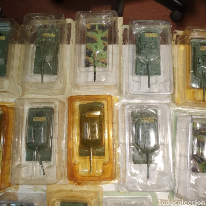Juguetes Antiguos: Lote De 19 tanques De Plomo y Resina, Procedentes De Vendedor Ambulante, envases abiertos. Pvc 10€. - Foto 5 - 240345815