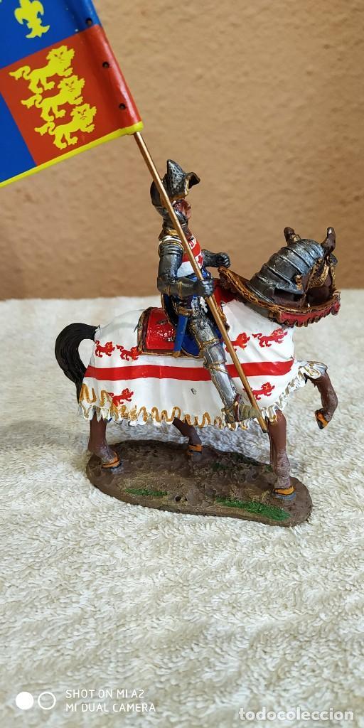 Juguetes Antiguos: Caballero Medieval Plomo . Pintado a mano - Foto 2 - 241020250