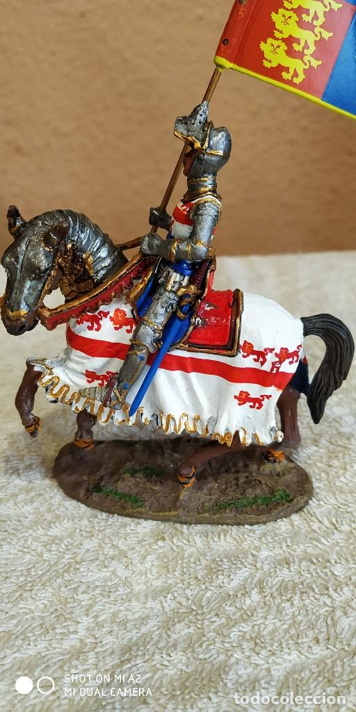 Juguetes Antiguos: Caballero Medieval Plomo . Pintado a mano - Foto 4 - 241020250