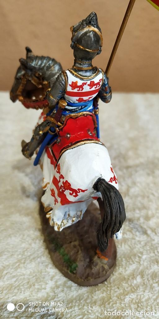 Juguetes Antiguos: Caballero Medieval Plomo . Pintado a mano - Foto 5 - 241020250