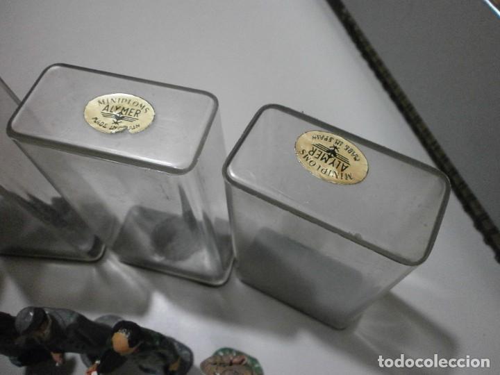 Juguetes Antiguos: lote antiguo de miniploms alymer made in spain soldados de 6,5 cms - Foto 6 - 241867775