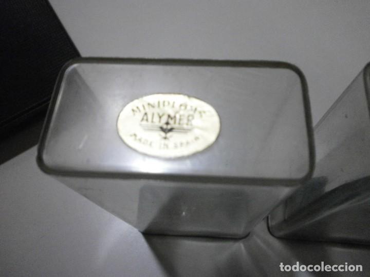 Juguetes Antiguos: lote antiguo de miniploms alymer made in spain soldados de 6,5 cms - Foto 8 - 241867775