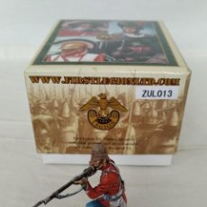 Juguetes Antiguos: FIRST LEGION ZULU WAR ZUL013 BRITISH 24TH FOOT KNEELING FIRING VARIANT Nº 1. Lote 244021895