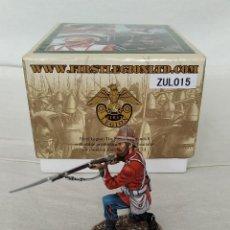 Juguetes Antiguos: FIRST LEGION ZULU WAR ZUL015 BRITISH 24TH FOOT KNEELING FIRING VARIANT Nº 2. Lote 244022070