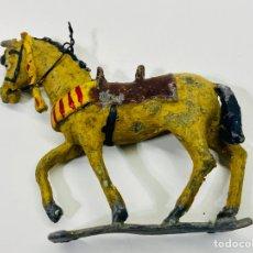 Juguetes Antiguos: FIGURA DE CABALLO DE SOLDADO PLOMO POSIBLEMENTE PECH. Lote 244909040