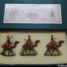 Jeux Anciens: SOLDADITOS DE PLOMO ALYMER - ÁNGEL COMES. EGYPTIAN CAMEL CORPS. Lote 245040000