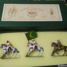 Jeux Anciens: SOLDADITOS DE PLOMO ALYMER - ÁNGEL COMES. ZULUS IN ACTION, 1879. Lote 245079510