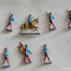 Juguetes Antiguos: SOLDADOS DE PLOMO ESPAÑOLES. SIN USO EN SU CARTON ORIGINAL. Lote 248021880