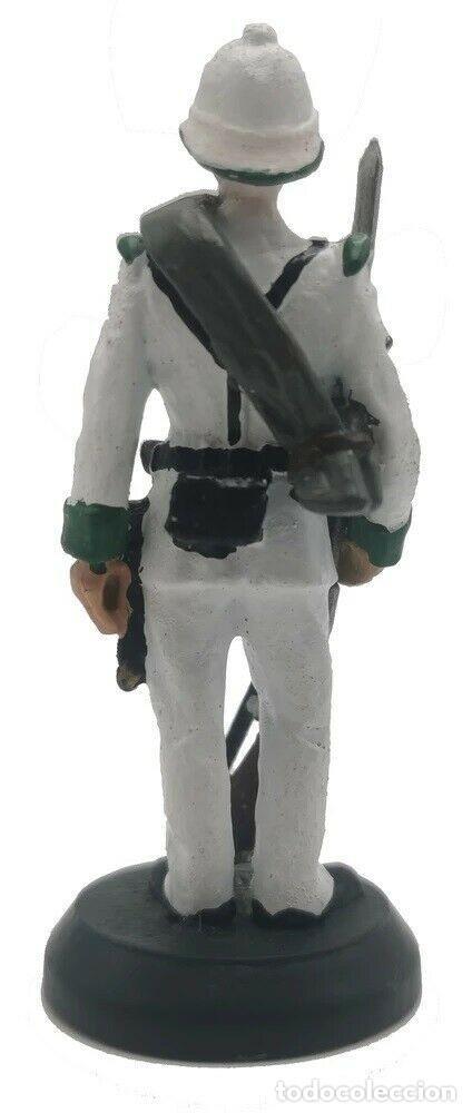 Juguetes Antiguos: Soldado colonial británico en uniforme de gala. En aleación de plomo. BLISTER SELLADO, A ESTRENAR. - Foto 2 - 249207480