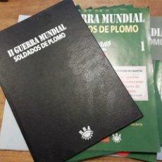 Giochi Antichi: TOMO 1 TAPAS Y 15 FASCÍCULOS SOLDADOS DE PLOMO ALMIRALL PALOU 2ª II GUERRA MUNDIAL LIBRO DE RBA PTOY. Lote 249207715