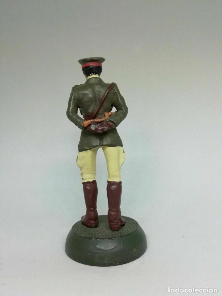 Juguetes Antiguos: Oficial británico, II Guerra Mundial. En aleación de plomo. BLISTER SELLADO, A ESTRENAR. - Foto 2 - 249208275