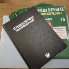 Giochi Antichi: TOMO 2 TAPAS Y 15 FASCÍCULOS SOLDADOS DE PLOMO ALMIRALL PALOU 2ª II GUERRA MUNDIAL LIBRO DE RBA PTOY. Lote 249217500