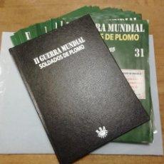 Giochi Antichi: TOMO 3 TAPAS Y 15 FASCÍCULOS SOLDADOS DE PLOMO ALMIRALL PALOU 2ª II GUERRA MUNDIAL LIBRO DE RBA PTOY. Lote 249224400