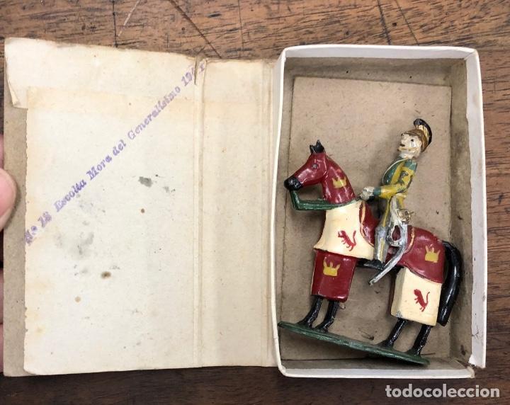 Juguetes Antiguos: HISTORIA MILITAR DE ESPAÑA EN SOLDADOS DE PLOMO. CON MUEBLE. AÑOS 50. 26 MODELOS. MUY RAROS - Foto 3 - 251809260