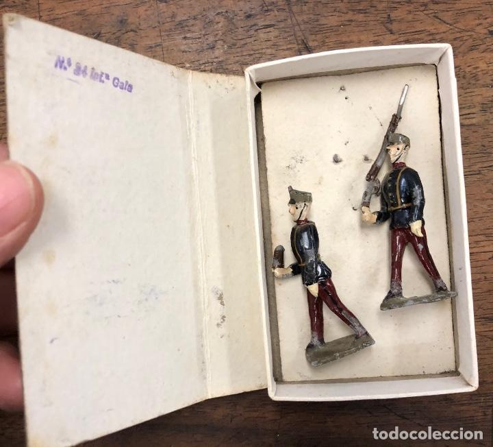 Juguetes Antiguos: HISTORIA MILITAR DE ESPAÑA EN SOLDADOS DE PLOMO. CON MUEBLE. AÑOS 50. 26 MODELOS. MUY RAROS - Foto 5 - 251809260