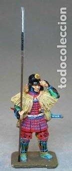 FIGURA EN ALEACIÓN DE PLOMO: SAMURAI SENGOKU MUSHA, 1554-1614. EN ENVASE ORIGINAL, A ESTRENAR (Juguetes - Soldaditos - Soldaditos de plomo)