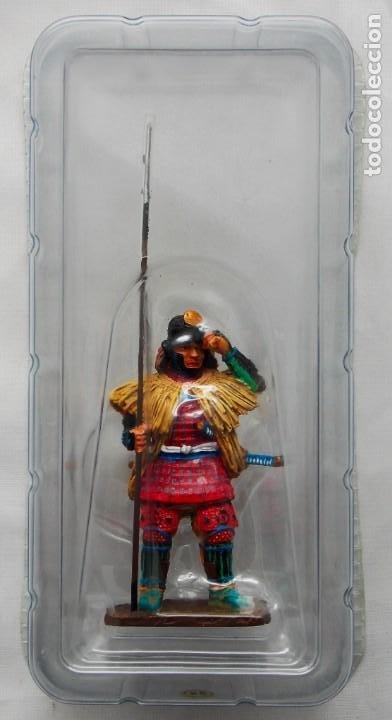 Juguetes Antiguos: Figura en aleación de plomo: Samurai Sengoku Musha, 1554-1614. En envase original, a estrenar - Foto 2 - 253559655