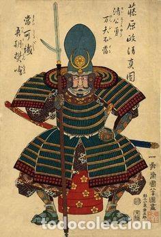 Juguetes Antiguos: Figura en aleación de plomo: Samurai Sengoku Musha, 1554-1614. En envase original, a estrenar - Foto 3 - 253559655