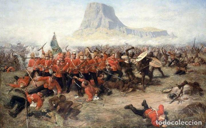 Juguetes Antiguos: Oficial británico oteando el horizonte, Isandlwana, 1879. BLISTER SELLADO, A ESTRENAR. - Foto 3 - 253968880