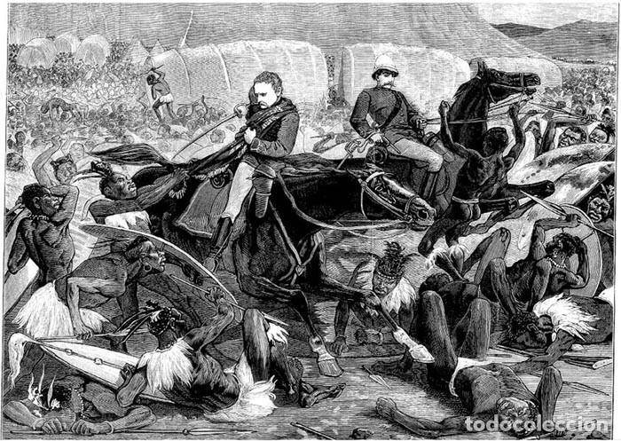 Juguetes Antiguos: Oficial británico oteando el horizonte, Isandlwana, 1879. BLISTER SELLADO, A ESTRENAR. - Foto 4 - 253968880